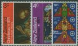 NZ SG964-6 Christmas 1971 set of 3